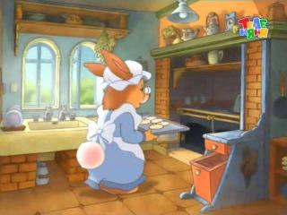 01. Истории папы кролика. Полет на воздушном шаре