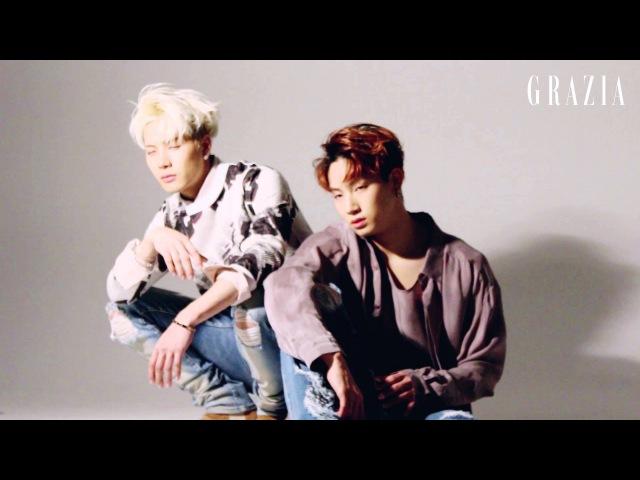 그라치아 2월 2호 통권 제 71호 갓세븐 화보 촬영 메이킹 영상