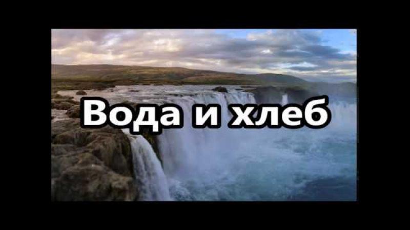 Рав Ронен Шаулов - Вода и хлеб - Сильная лекция - удивительный и полезный урок- 27-8-15 Израиль