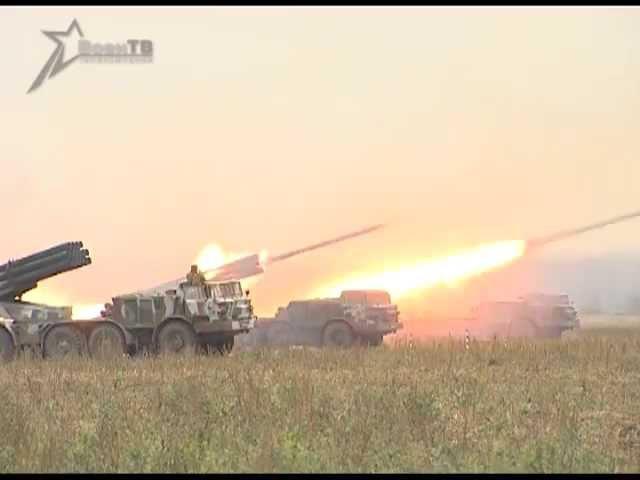 РСЗО Ураган как работает артиллерия