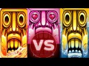 Temple Run 2 Blazing Sands VS Frozen Shadows VS Sky Summit PART 4 Artifacts or Charms