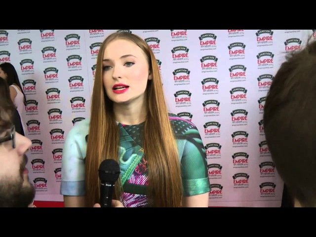 Sophie Turner (Game of Thrones) Interview - 2014 Jameson Empire Awards