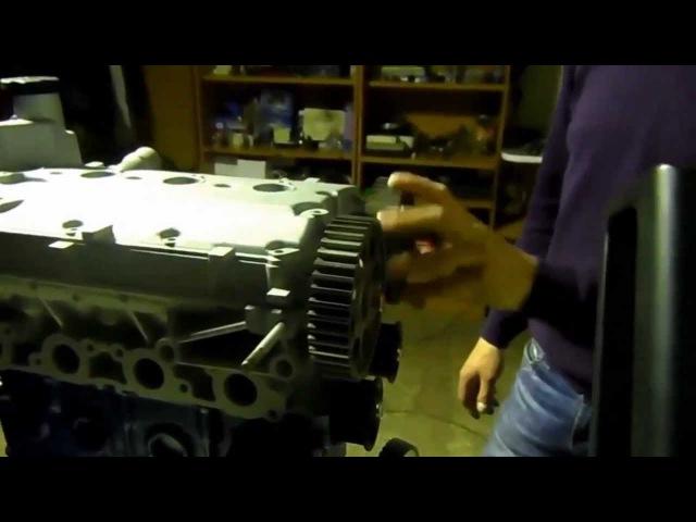 Изобретение из Мордовии ГРМ в ДВС без клапанных пружин Without valvate springs