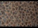 Уникальная кладка стены дубглина. ЭкоФерма Горчичная Поляна.