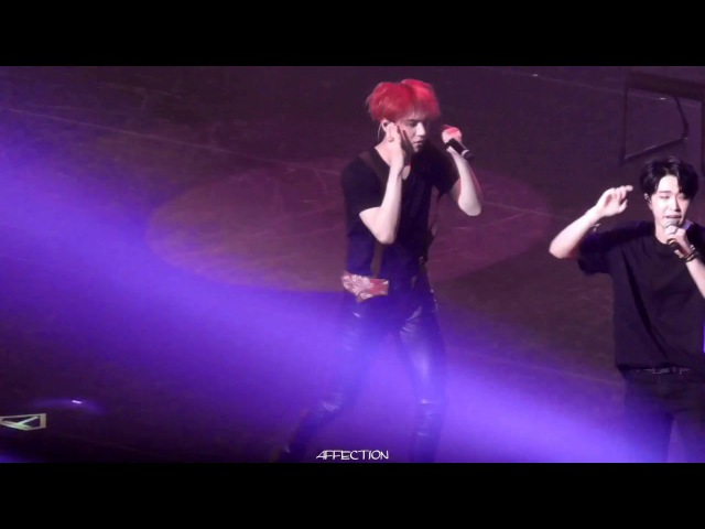 160601 GOT7 FLY IN TOKYO 못하겠어(Can't) YUGYEOM focus