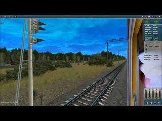 Trainz | Колодезная - Масловка ЮВЖД