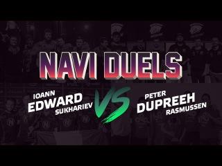 Na'Vi CS:GO Duels: Edward vs. Dupreeh @ SL i-League StarSeries XIV Finals