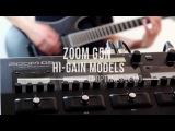 Zoom G5n - Hi-Gain Demo &amp Playthrough