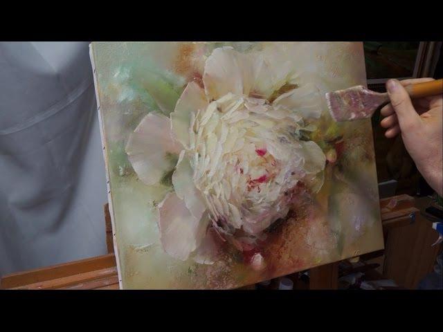 Process of creating oil painting from Oleg Buiko. Небольшой этюд