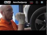 Замена тормозных колодок на BMW
