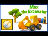 Children's MUSICAL INSTRUMENTS Games! Kid's Educational Cartoons - EXCAVATOR MAX - Videos for Kids!