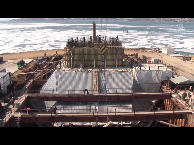 Мост на остров Русский во Владивостоке Фильм май 2012
