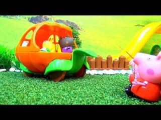 Свинка Пеппа Джордж волшебник Новые серии Мультик из игрушек