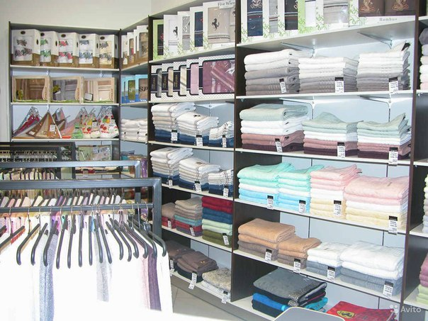 Дизайн магазин текстиля