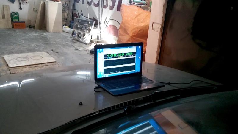 159 дБ на музыке - 4xDeaf Bonce DB-153 Audio Extreme AE-5500.1D!
