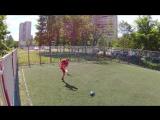 Футбол. 1х1 (два касания). Игра с Алексеем №2. 8 сет. 2 часть.