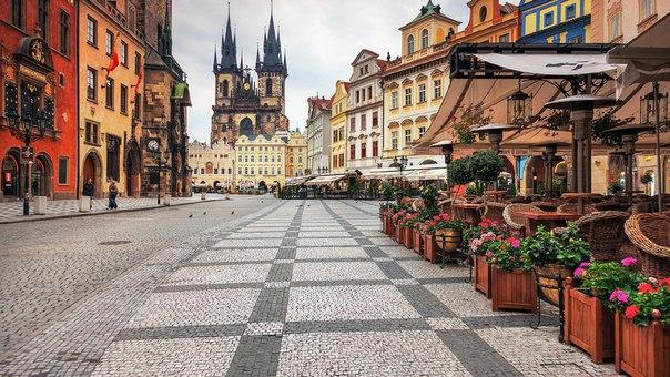 Чехия, Сердце Европы