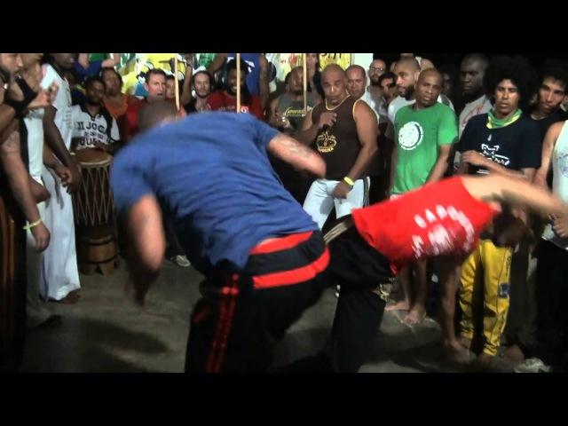 Roda Aula Mestre Cícero parte 5 de 8 Capoeirando 2016