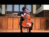 Nathan Chan 'Cello Suite No 3 in C major (Bach)