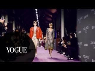 Walking the Walk Backstage With Zoolander 2's Model Squad