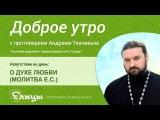 О ДУХЕ ЛЮБВИ. о.Андрей Ткачев. Можно ли любовью