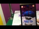 Обзор Живой 3Д раскраски от Devar