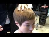 Kenneth Siu's Haircut - Dry Cut Pixie