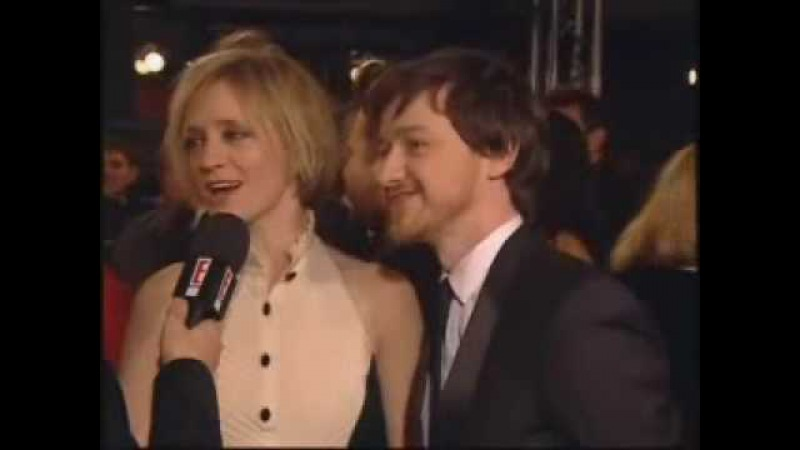 James McAvoy doing Ryan Seacrest at the Orange British Academy Film Awards 2008