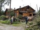Дом № 9 по улице Черняховского наконец-то отремонтирован после летнего урагана