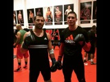 Luke Rockhold training for Weidman, UFC 199