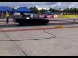 800+hp Moskvich 2140 Tappajamosse (killermoskvitch) 1/4mile drag race