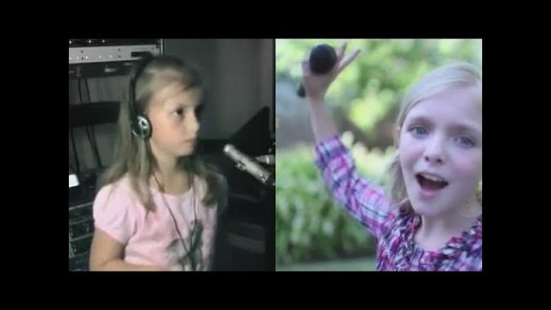 Песенка про следы Алина Кукушкина и Элси Фишер (м/ф Маша и медведь)