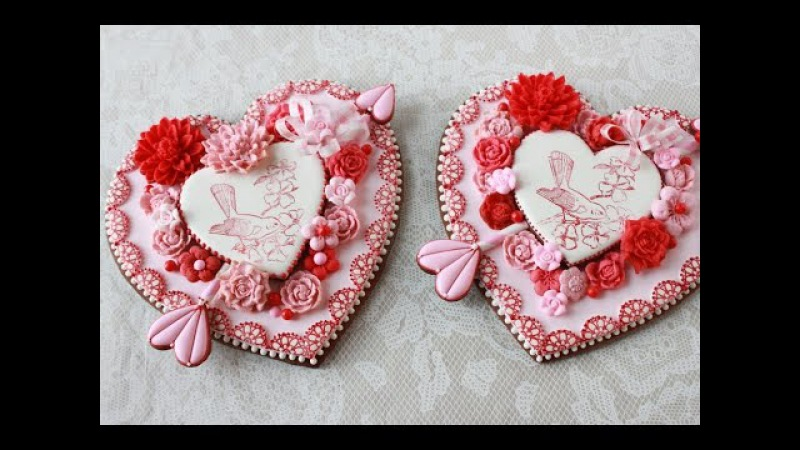 How to Make Embossed Heart Cookies A Valentine's Day Project