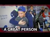 Cristiano Ronaldo - A Great Person | 2015 | HD
