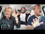 Род Стюарт и A$AP Rocky исполняют песни караоке на The Late Late Show With James Corden
