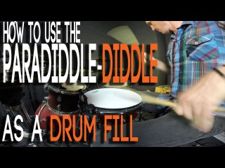 The Paradiddle-Diddle Drum Fill Chop (EASY)