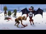 Dendi Clinkz + Attacker Kunkka vs Black Lion Dota 2