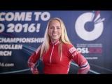 Тириль Экхофф приглашает на чемпионат мира по биатлону в Осло 2016