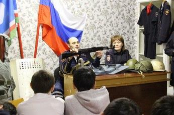 В Якутии сотрудниками полиции ОМВД России по Булунскому району проведена акция для школьников «Будущая смена»