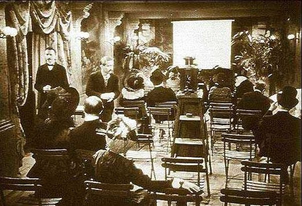 the very first film program to charge admission at berlin wintergreen in 1895