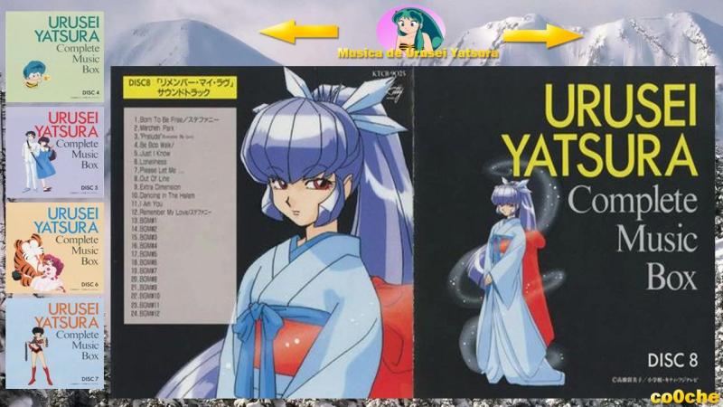 Track 1 Urusei YatsuraLum,La chica invasora Born to Be Free Disco 8