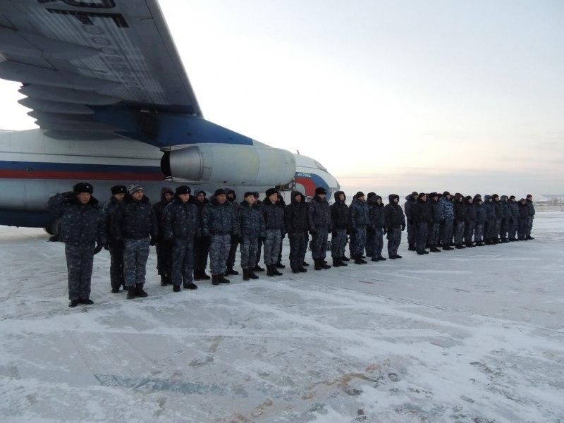 Якутский сводный отряд полиции вернулся из служебной командировки в Северо-Кавказский регион