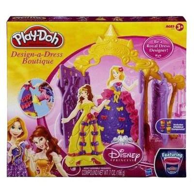 Пластилин Hasbro Набор пластилина Бутик для принцесс Дисней, Play-Doh