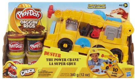 Пластилин Hasbro Игровой набор Весёлый кран, Play-Doh