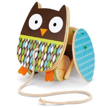 Деревянные игрушки Каталка Treetop Owl Pull Toy, Skip-Hop