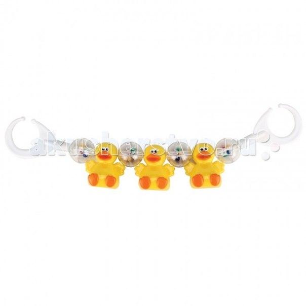Дуги для колясок и автокресел Подвеска на коляску Утята Ducklings, Happy Baby