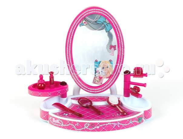 Ролевые игры Студия красоты настольная с аксессуарами Barbie, Klein