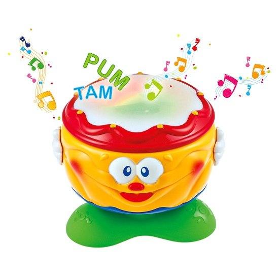 Музыкальные игрушки Baby Веселый барабанчик, Clementoni