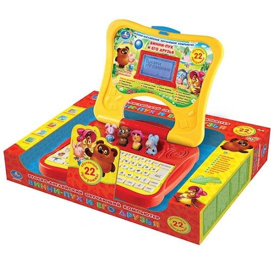 Электронные игрушки Обучающий компьютер Винни-Пух и его друзья (22 программы), Умка