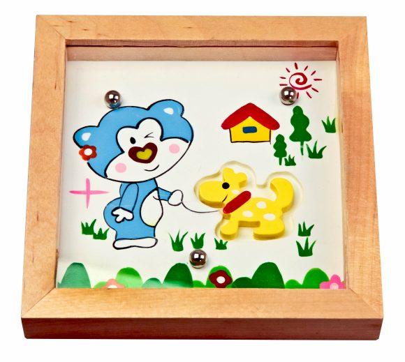 Деревянные игрушки Головоломка Мишка, Mapacha